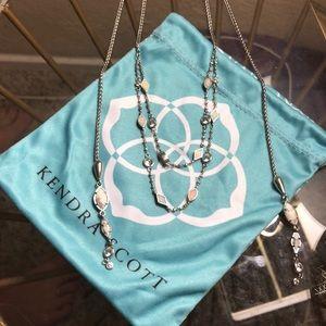 Kendra Scott silver Emelina necklace